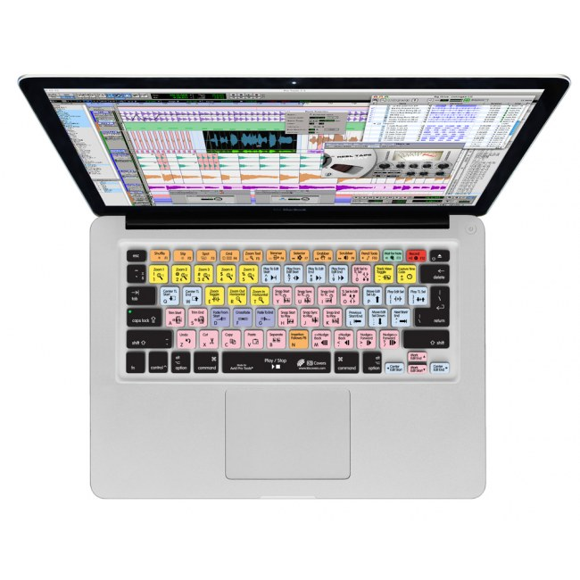 MAGMA Keyboard Cover ProTools Macbook 13/15/17 Tastaturschutzauflage (MacBook Qwerty)