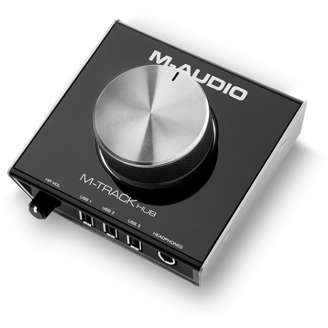 M-AUDIO M-Track Hub USB Monitoring Interface und USB-Hub