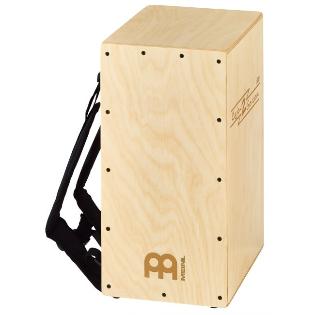 MEINL CAJ2GO-2 Backpacker Cajon inkl. Rucksackgurt, natural