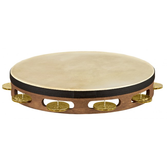 MEINL TA1V-WB Vintage Wood einreihig Tambourin