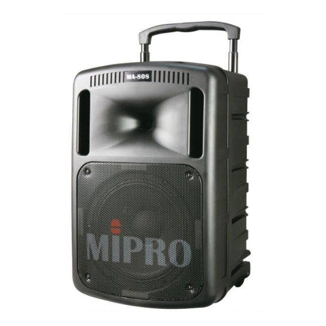 MIPRO MA-808D/CD Batterie-PA-System 250W/10Zoll Batterie PA-System inkl. CD Player