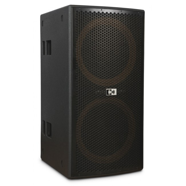 MONTARBO Earth-218 aktiv 3400Watt/2x18Zoll Class-D PA-Subwoofer