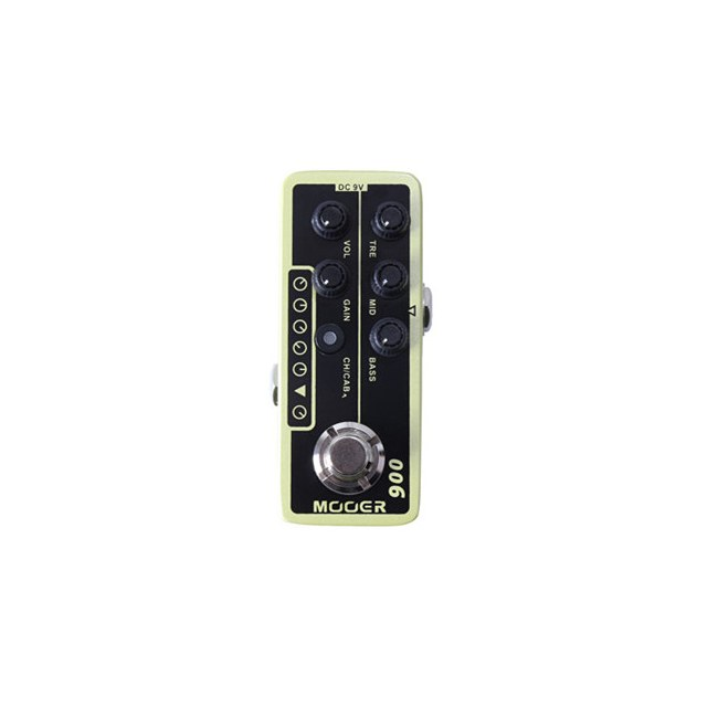MOOER Micro PreAMP 006 US Classic Deluxe Effektpedal