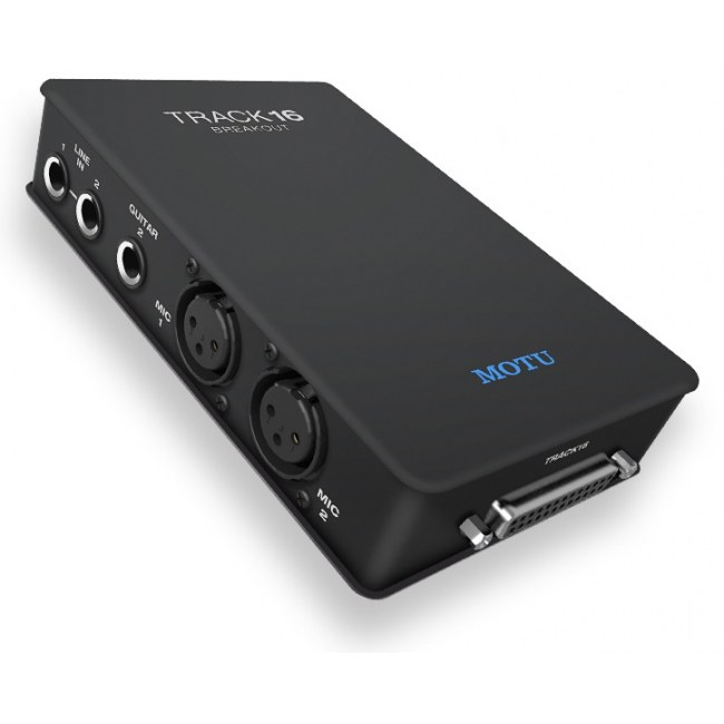 MOTU Track 16 BreakoutBox Audio-Interface