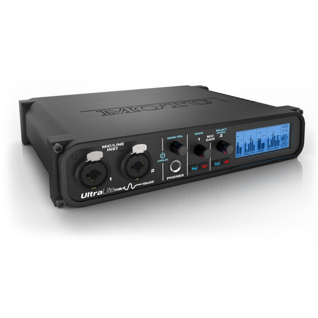 MOTU UltraLite-mk4 USB 18x22 Audio-Interface mit DSP