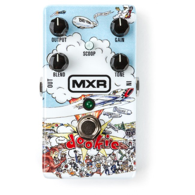 MXR DD 25 Dookie Drive Billie Joe Armstrong Signature Limited Edition Overdrive Effektpedal