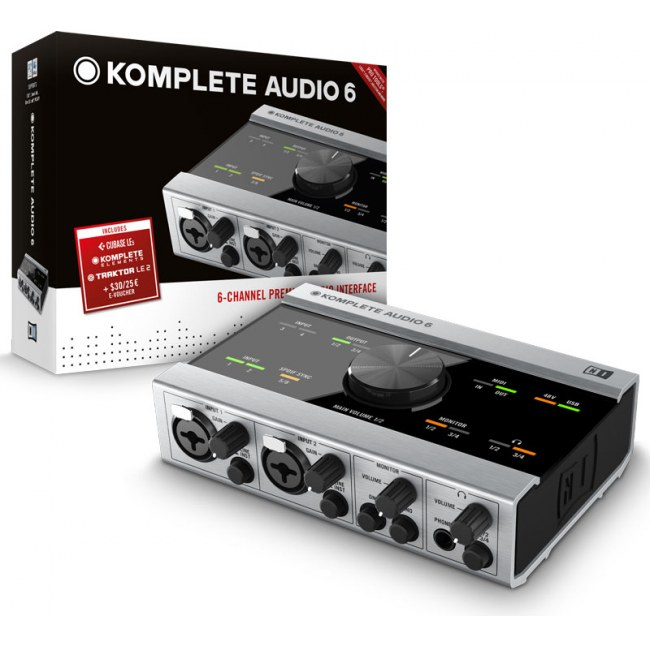 NATIVE INSTRUMENTS Komplete Audio 6 USB Audio-Interface inkl. Komplete Elements