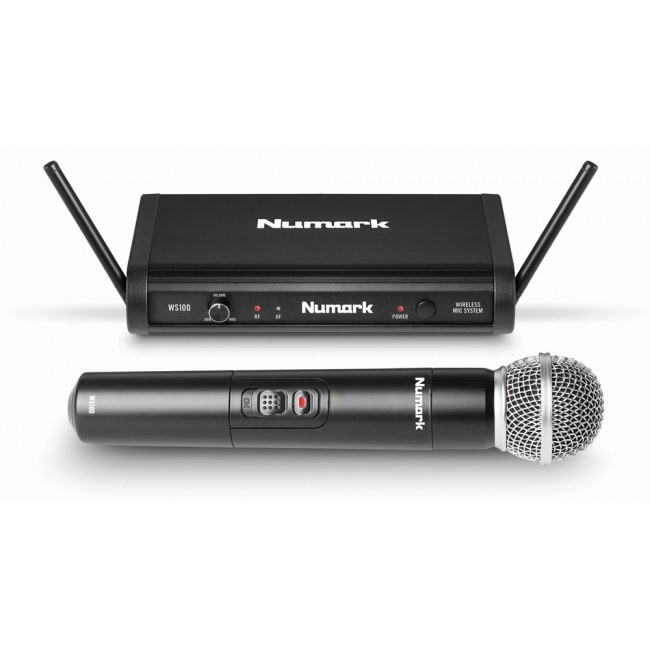 NUMARK WS-100 Vocal Handheld Digitales Drahtlossystem