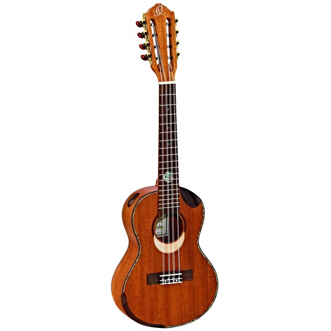 ORTEGA Eclipse-TE8 Tenor 8-saitige Ukulele, natural gloss