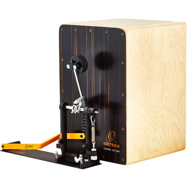 ORTEGA OSTBCJ-BU Stomp Box Cajon Bundle