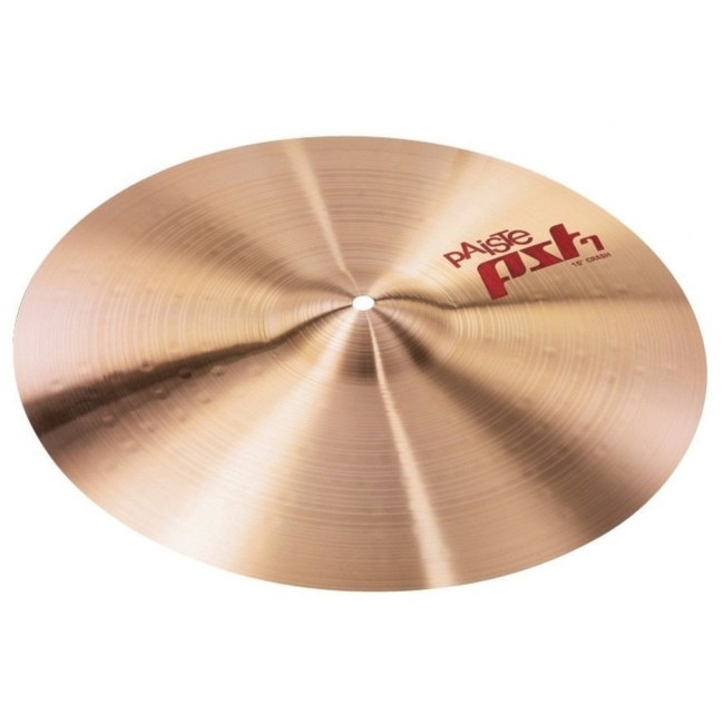 PAISTE PST-7 Crash Cymbal 16 Zoll PST7-Serie Becken, traditional