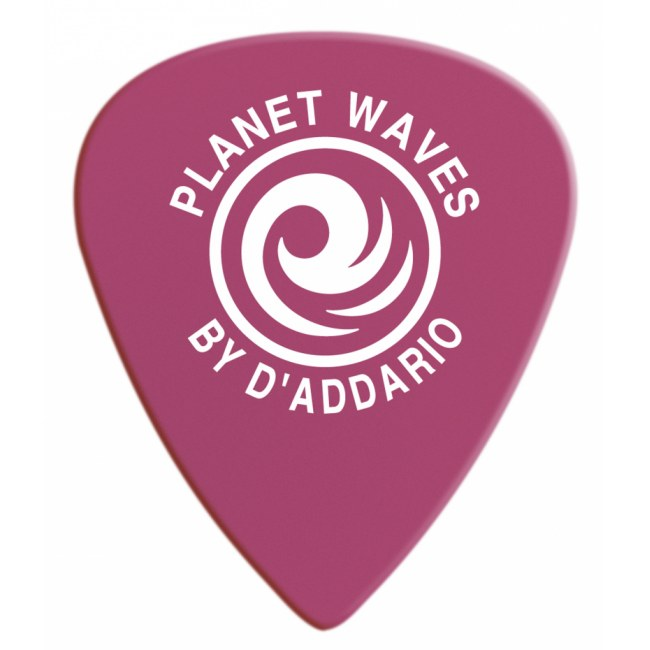PLANET WAVES 6DPR6-10 Duralin Heavy Pack 1,2mm Plektrum, pink (10 Stück)