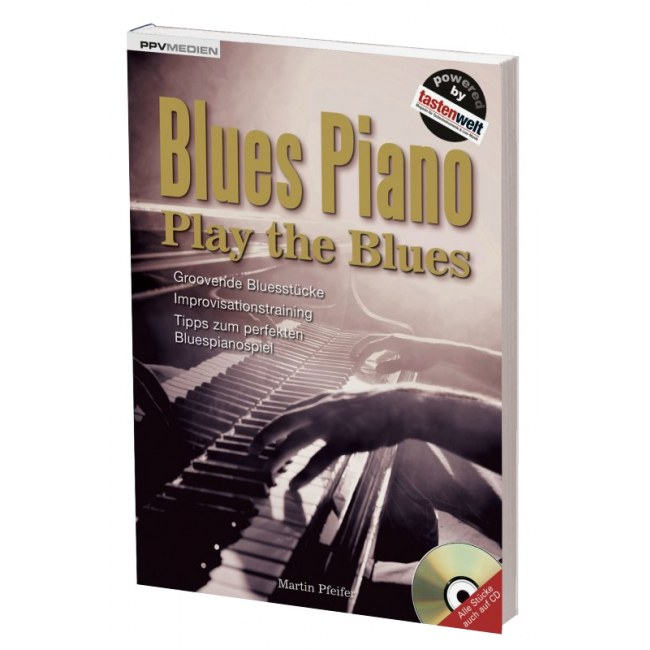 PPVMEDIEN Blues Piano /CD Play the Blues auf 112 Seiten