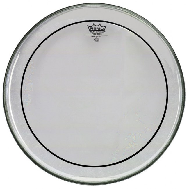 REMO PS-0312-00 Pinstripe transparent 12 Zoll Schlagfell, Tom. Die Wahl soundbewusster Drummer.