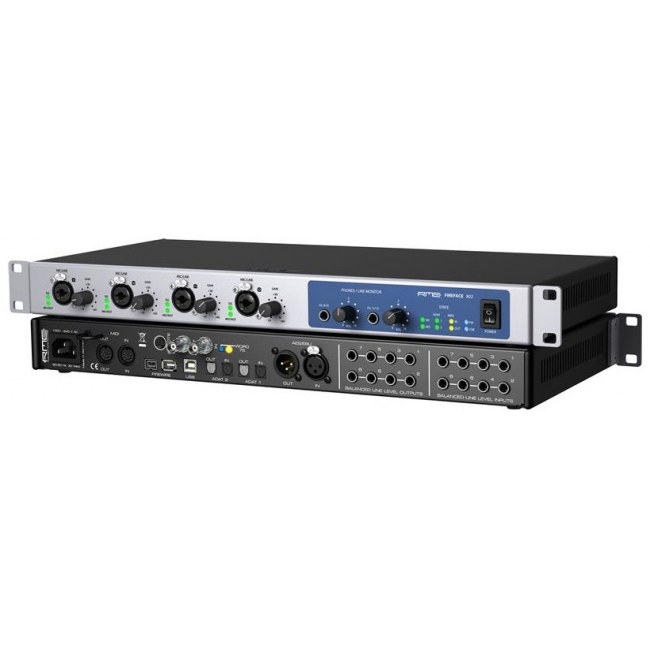 RME Fireface 802 USB/FireWire Audio-Interface