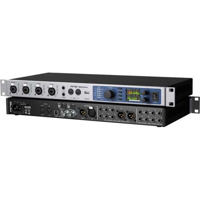 RME Fireface UFX II FireWire/USB Audio-Interface