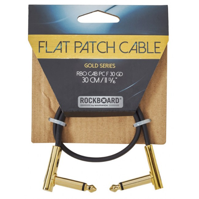 Rockboard Cab Pc F 30 Gd Gold Series Flat Patch Cable 30