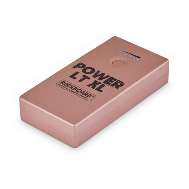 ROCKBOARD Power LT XL RG Mobile Stromversorgung Handy/Effekte 2000mA, rose
