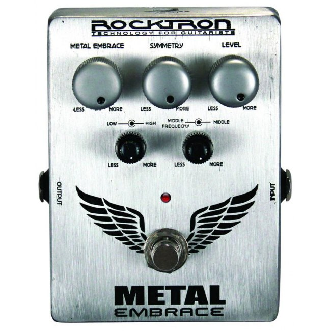 ROCKTRON Metal Embrace Distortion Effektpedal