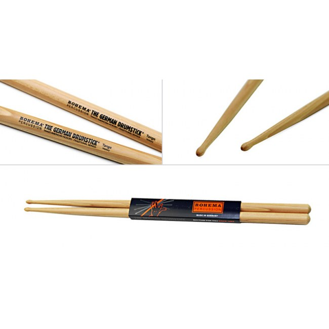 ROHEMA 61342/2 Traditional Tango Hickory (Paar) Drumsticks