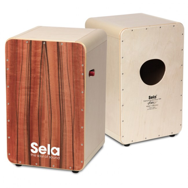 SELA SE 011 CaSela Pro Tineo Cajon mit Snare On/Off-Mechanik
