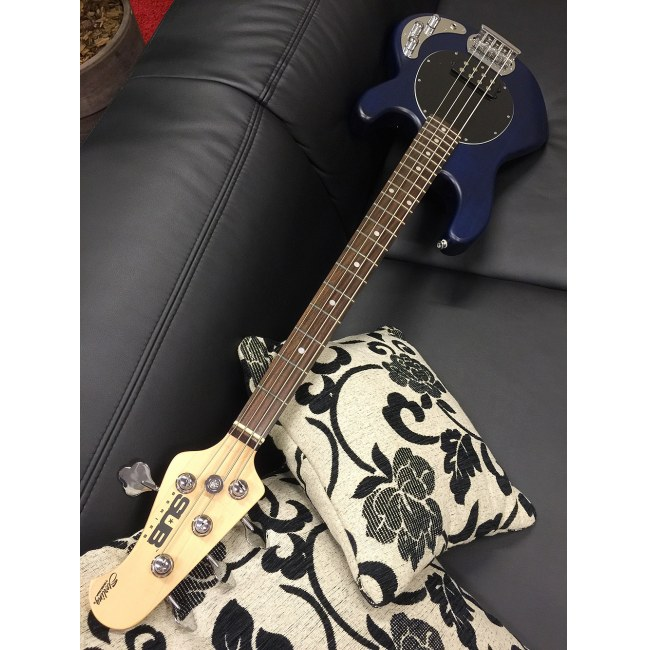 STERLING by Music Man SUB Ray 4 TBLS Stingray 4-saitiger E-Bass, trans blue satin