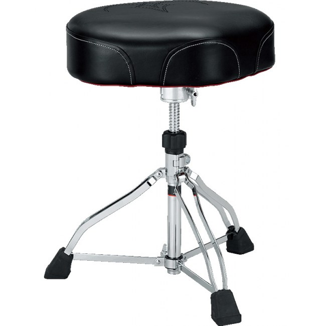 TAMA HT730B 1st Chair Ergo Rider Throne Drumhocker, schwarz
