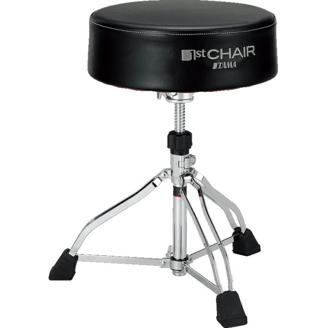 TAMA HT830B 1st Chair Round Rider XL Throne Drumhocker, schwarz