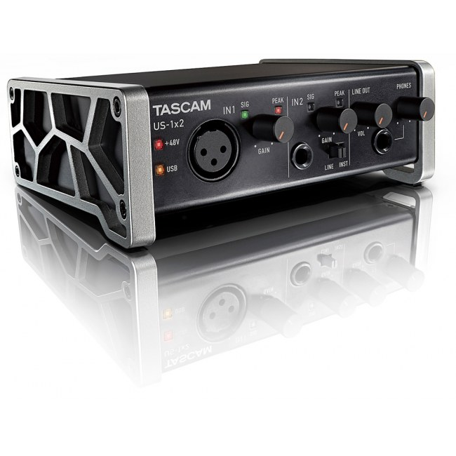 TASCAM US-1x2 USB Audio/MIDI-Interface