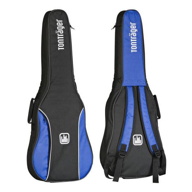 1//2-Gitarre schwarz rot blau Gig Bag Gitarrentasche GEWA Economy 12 Line