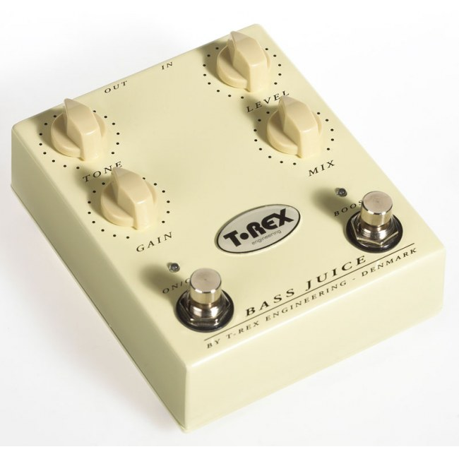 T-REX Bass Juice Distortion Effektpedal