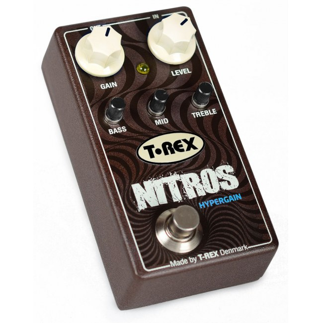 T-REX Nitros Distortion/Overdrive Effektpedal