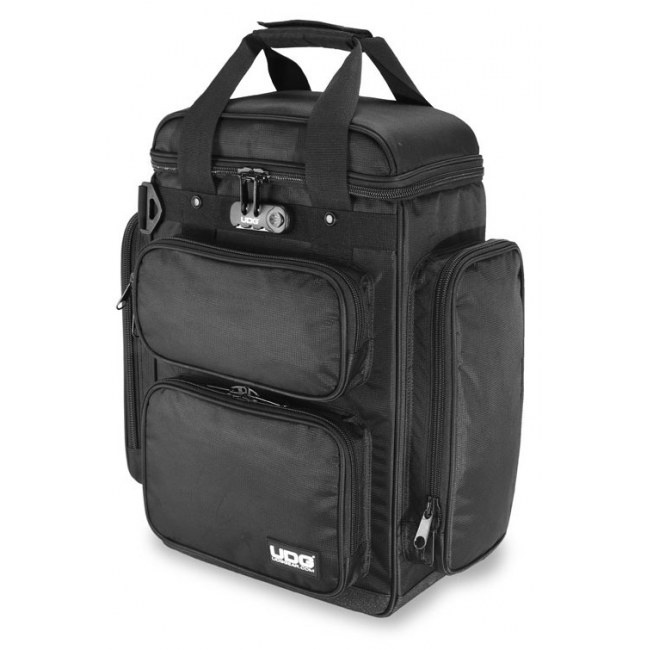 UDG U-9022 BL/OR Producer Bag Large DJ-Rucksack, black/orange