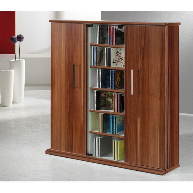 vcm 45032 santo cd dvd turm nussbaum m bel. Black Bedroom Furniture Sets. Home Design Ideas