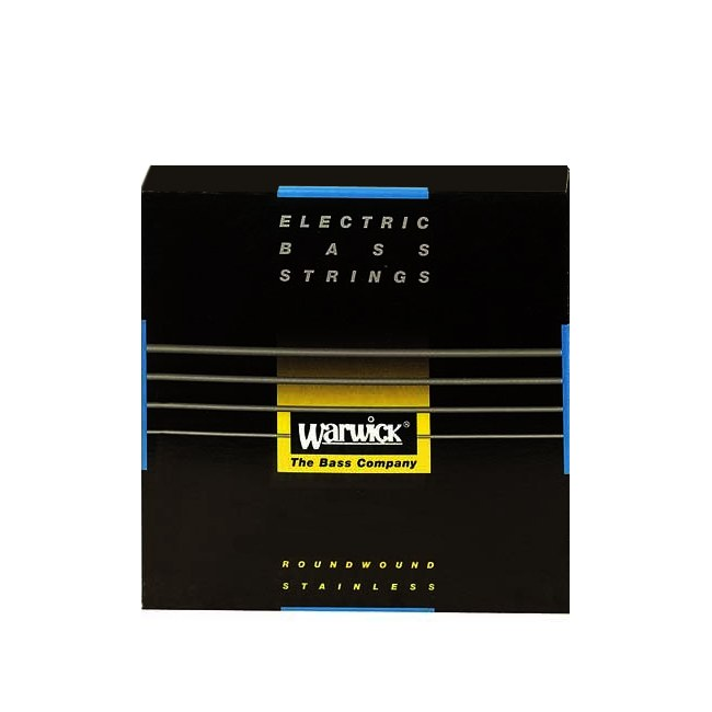 WARWICK Black Strings 5 Bass Medium 040-130 Stainless Steel Roundwound. Saiten für E-Bass