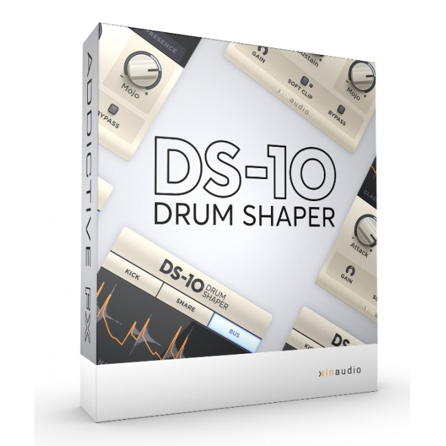 XLN-AUDIO Addictive FX: DS-10 Drum Shaper Software-Instrument