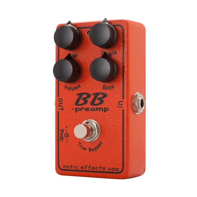 XOTIC BB Boost/Overdrive Effektpedal