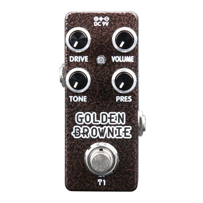 XVIVE T1 Golden Brownie Thomas Blug Distortion Signature Effektpedal