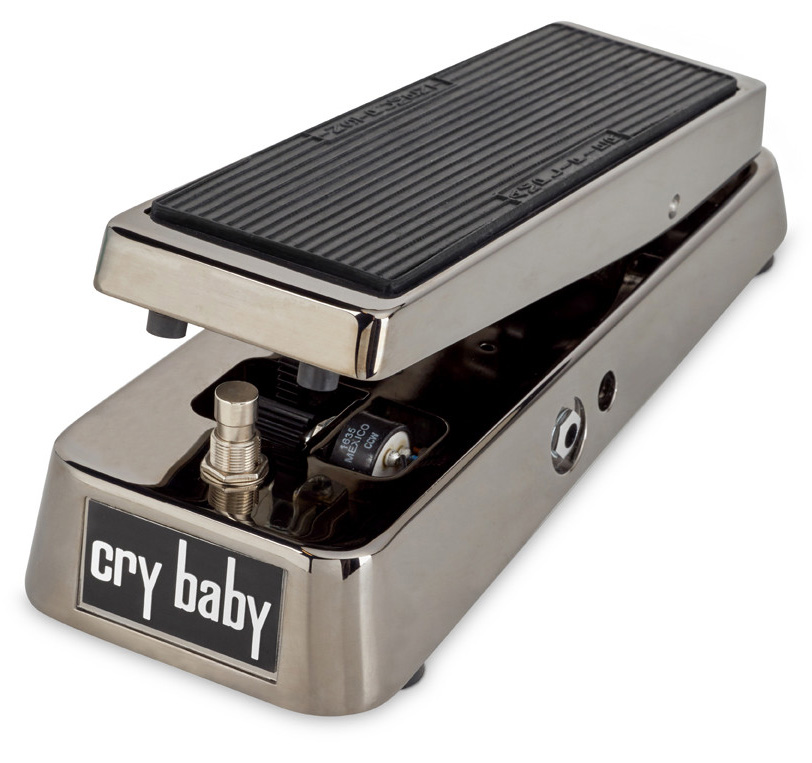 Jim Dunlop Gcb 95 Sc Crybaby Original Smoke Chrome