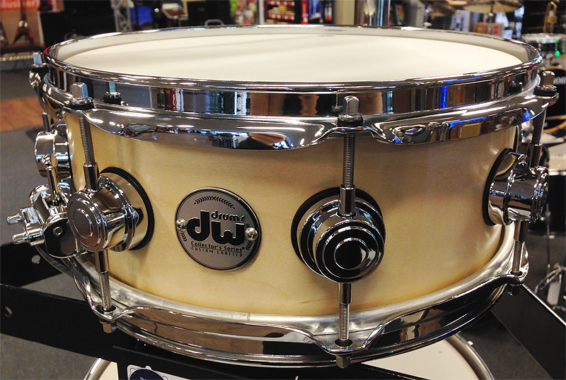 DW Collectors 14x5 Wood Snare Satin Oil Snaredrum (802.038.130 ...