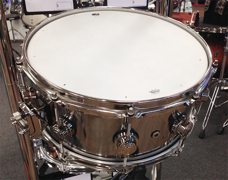 DW Collectors 14x6,5 Stainless Steel Snare Snaredrum (802.428 ...