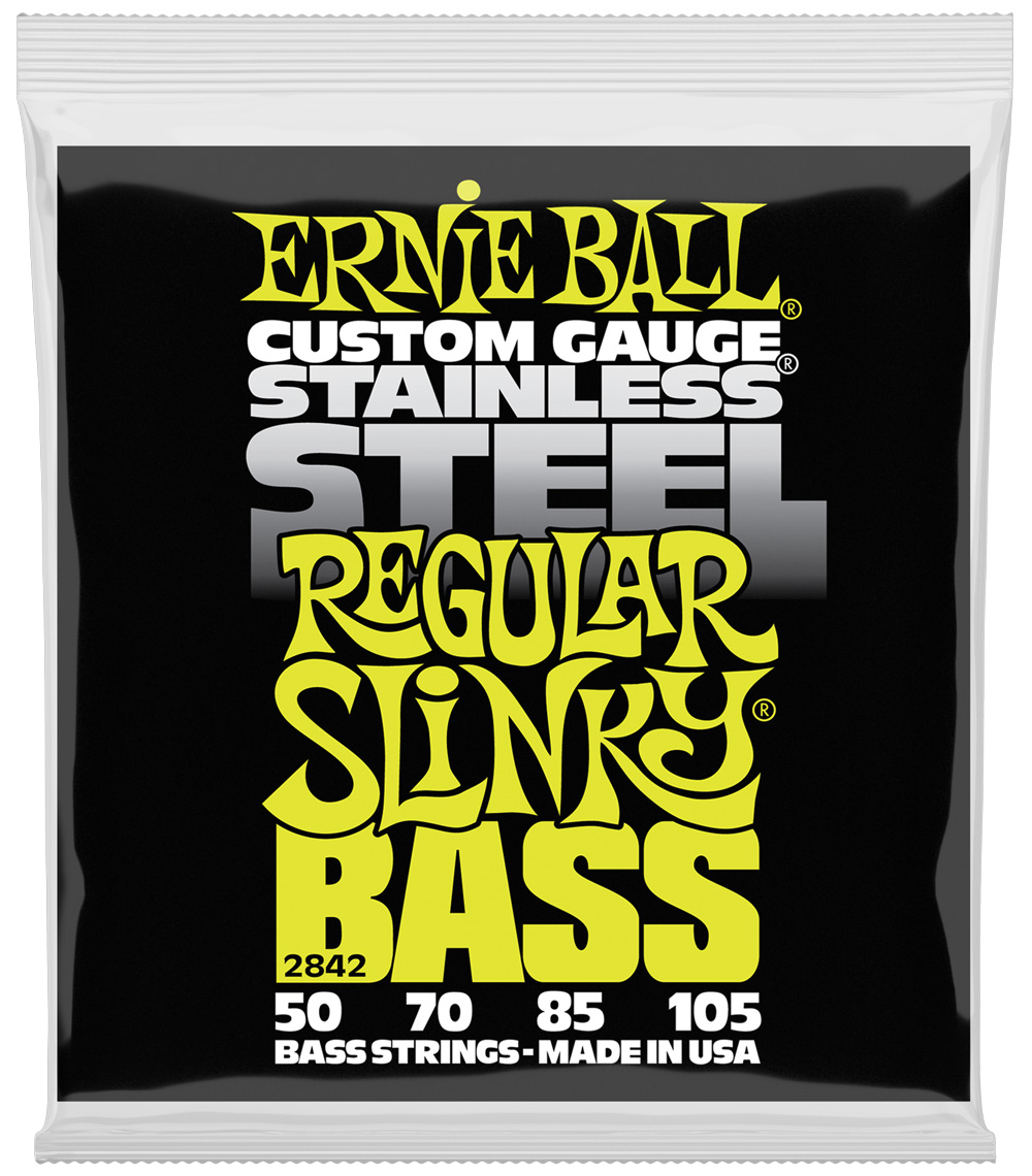 Ernie Ball 2806 Flatwound Group III Electric Bass Guitar Strings gauges 45-100