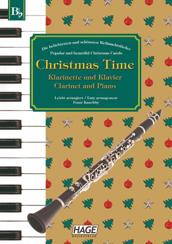 HAGE Christmas Time Klarinette und Klavier EH 1098, 37 bekannte ...