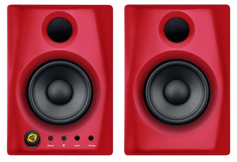 monkey banana gibbon air red aktiv 60watt 4zoll bluetooth lautsprecher paar recording. Black Bedroom Furniture Sets. Home Design Ideas