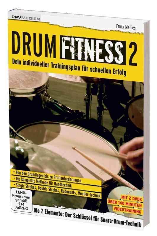 ppvmedien drum fitness 2 dvd dein trainingsplan f r schnellen erfolg b cher medien. Black Bedroom Furniture Sets. Home Design Ideas