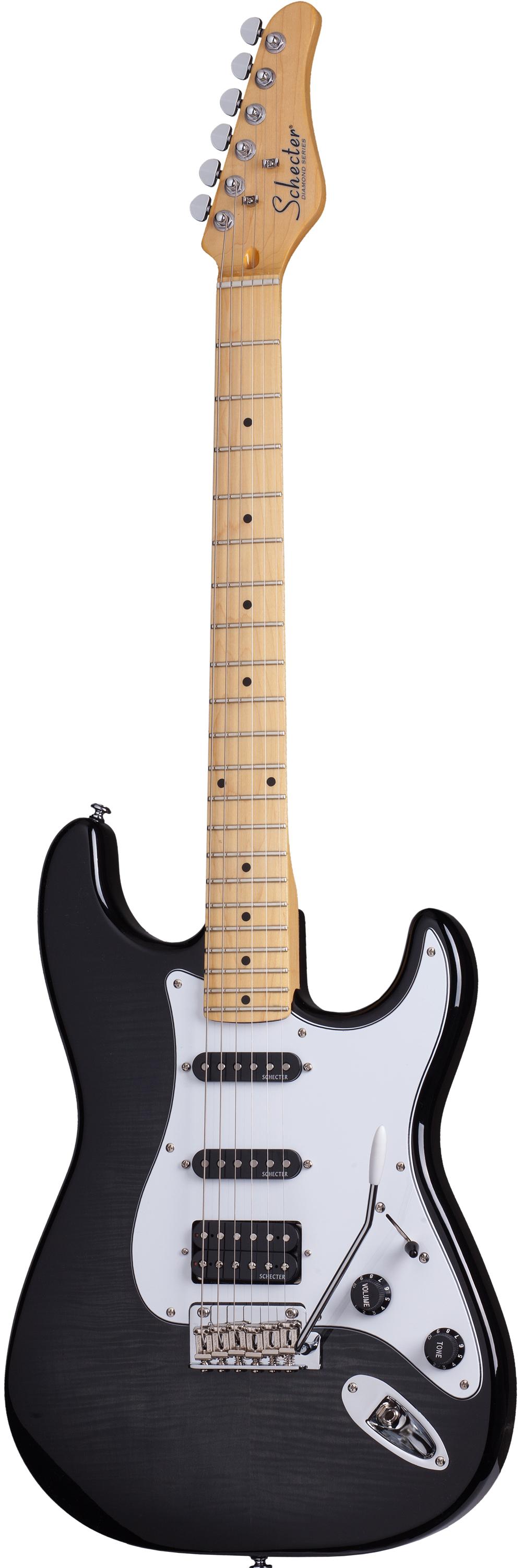 SCHECTER Trad Custom H/S/S TBB California E-Gitarre inkl. Gigbag ...