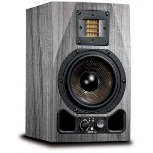 ADAM AUDIO A5X SKIN Grey Wood Foliensticker
