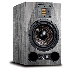 ADAM AUDIO A7X SKIN Grey Wood Foliensticker