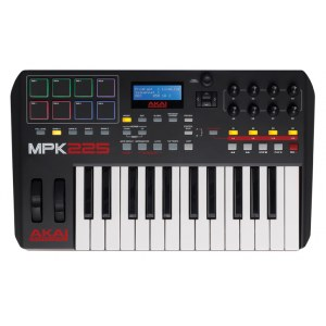 AKAI MPK-225 USB MIDI-Keyboard inkl. Software-Paket