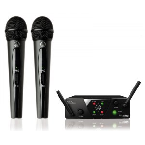 AKG WMS-40 Mini Dual Vocal Handheld Set UHF-Drahtlossystem